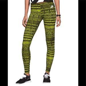 Nike Size S All Over Print Venom Running Leggings